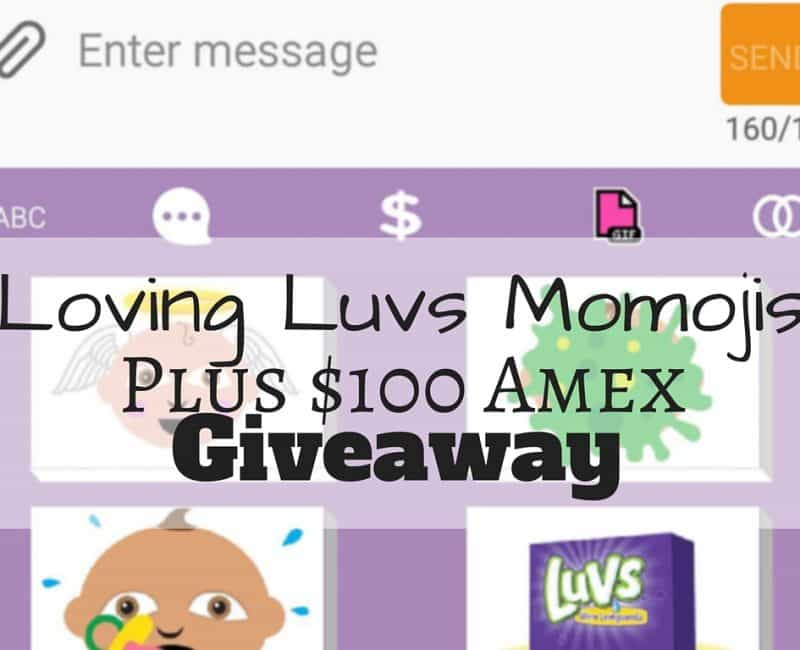 Loving Luvs Momoji Plus $100 Amex Giveaway