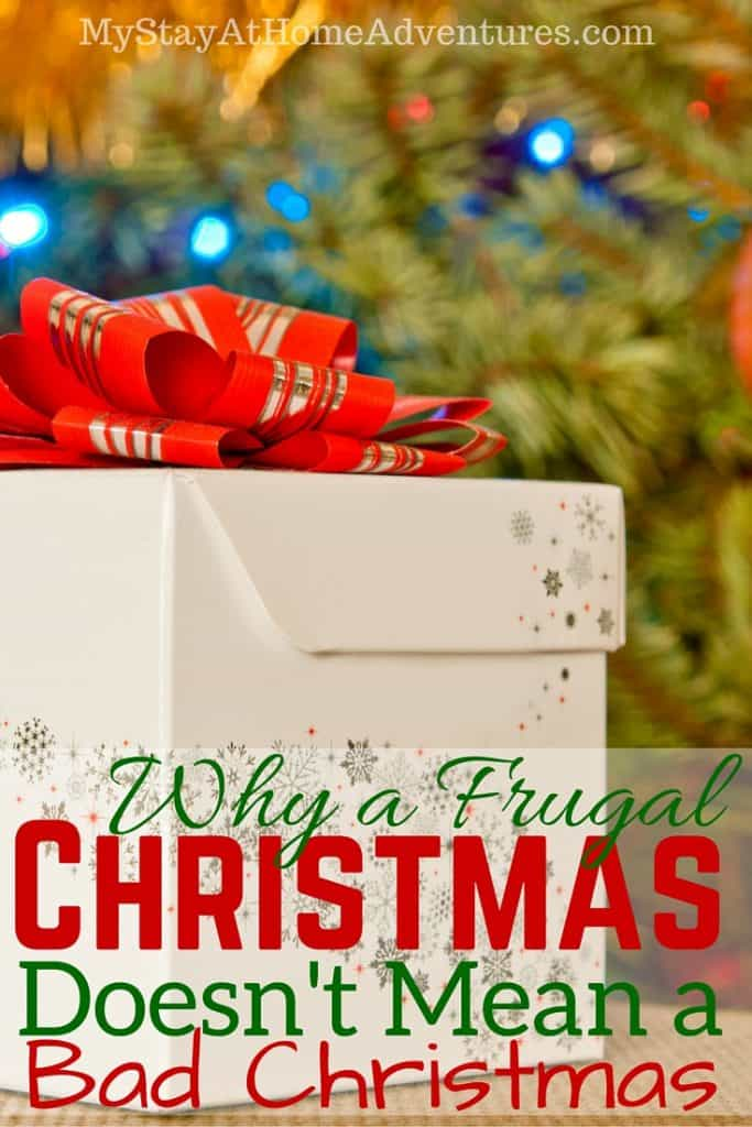 Why a Frugal Christmas Doesn't Mean a Bad Christmas(1)