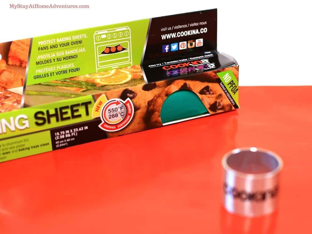 cookina reusable baking sheet