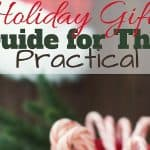 Holiday Gift Guide for The Practical for 2017