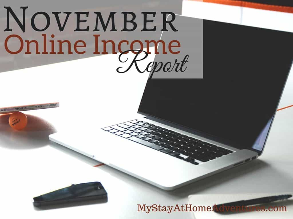 This is how I managed to earn over $1000 in one month. Here's November Online Income Report to show you how it was done.