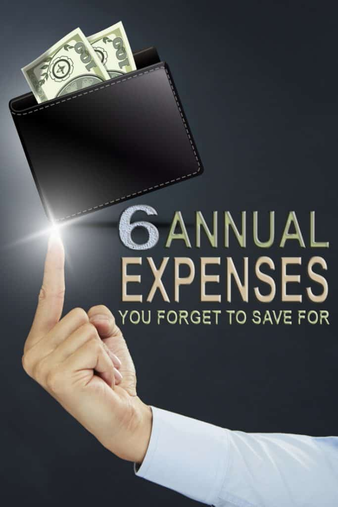When it comes to budgeting remember to save for these 6 annual expenses many people tend to forget. From life insurance to medical insurance learn the tricks to budget for them without stressing out.