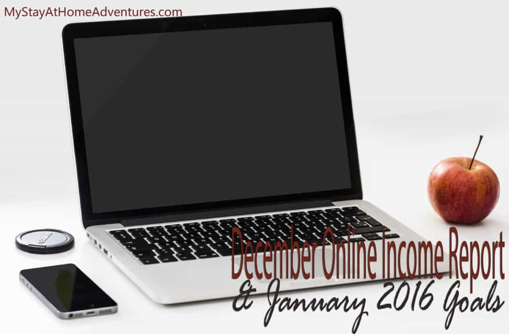 See how I made over $1100 in one month in my December 2015 Online Income Report!