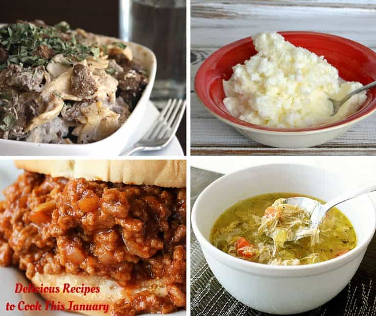 Delicious Recipes to Cook This January