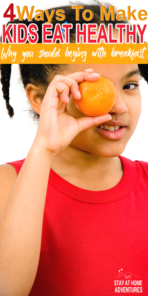 Tired of finding ways to make your kids eat a healthy breakfast? Here are some tips to help your kids eat a healthy breakfast.