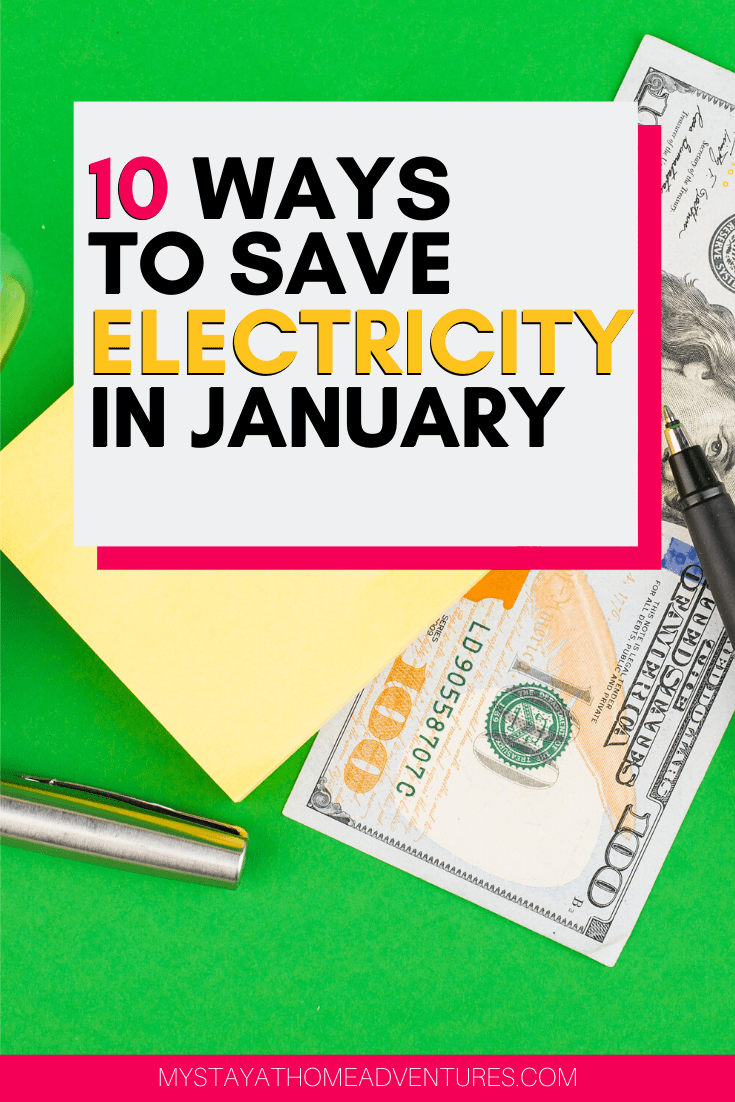 Finding ways to save money is important. Finding ways to save electricity in January will benefit us for the entire year. Find out how. via @mystayathome