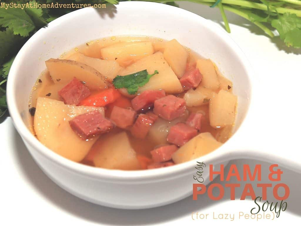 I love easy recipes and easy to make soup. This is a personal favorite easy ham and potato soup for lazy people will be perfect addition for busy families.