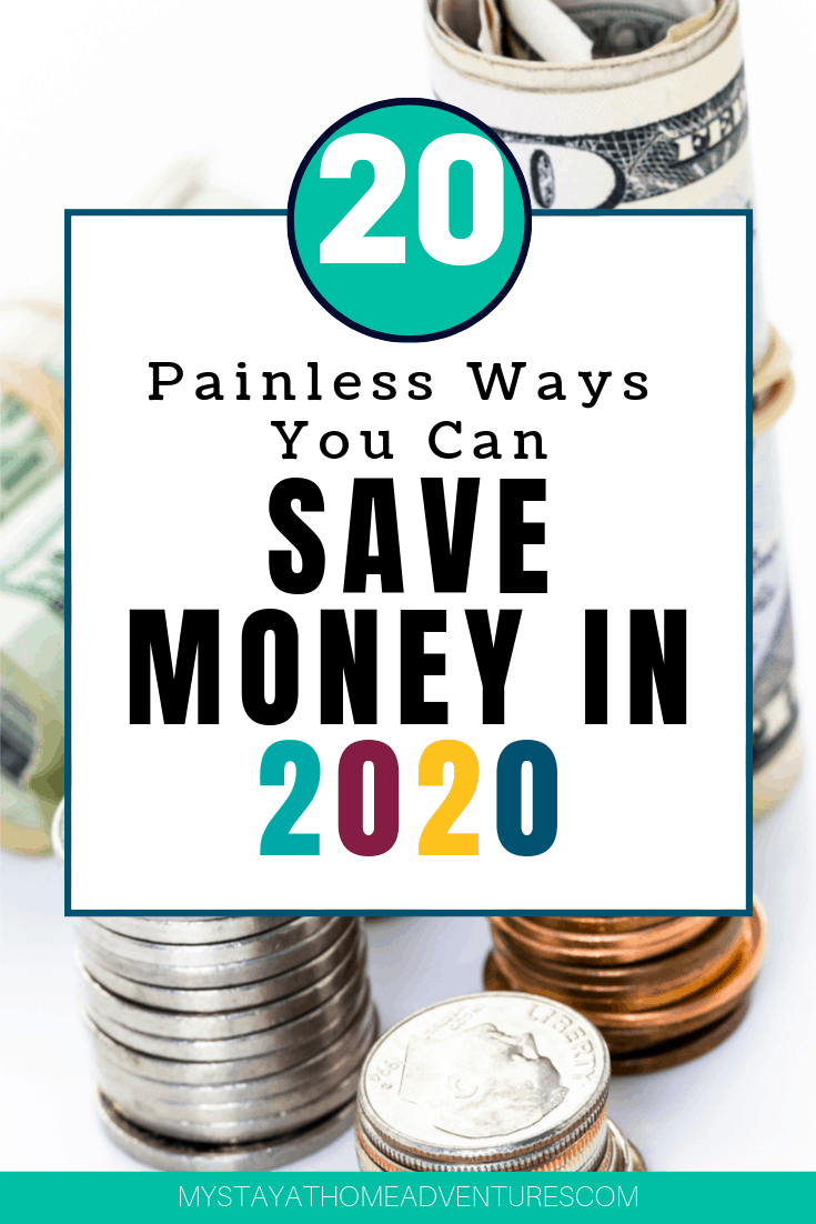 Tired of searching for effective ways to save money this year? Check out these 20 sneaky ways you never thought of to help you save BIG! via @mystayathome