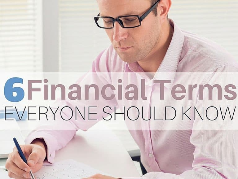 6 Financial Terms Everyone Should Know