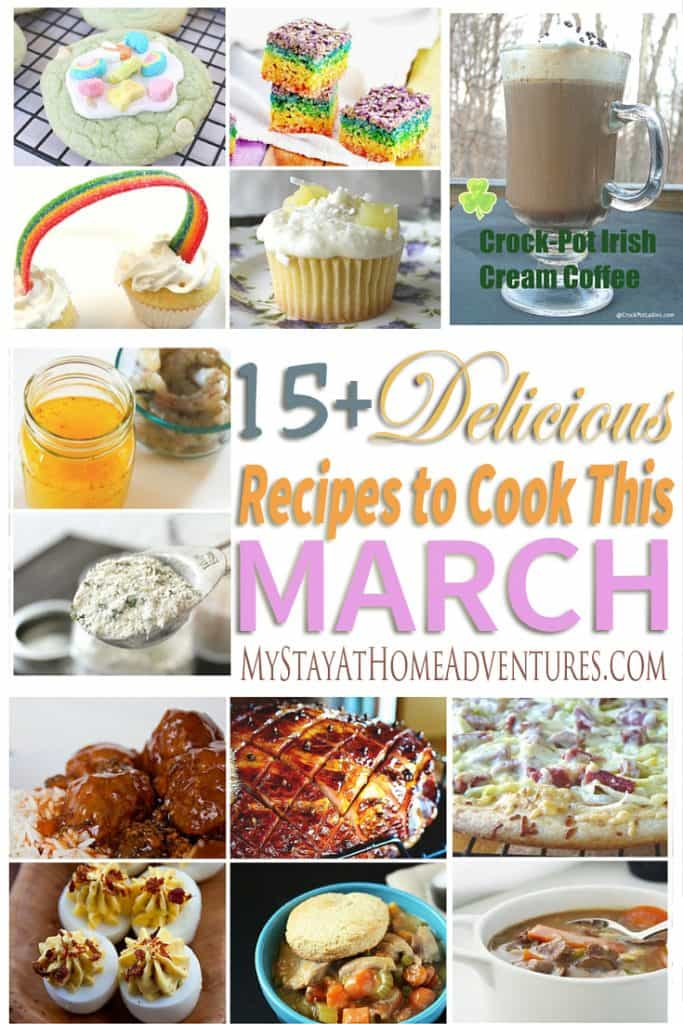Delicious Recipes to Cook This March - Delicious Recipes to Cook This March. Celebrate St. Patrick and Easter with these mouthwatering recipes.