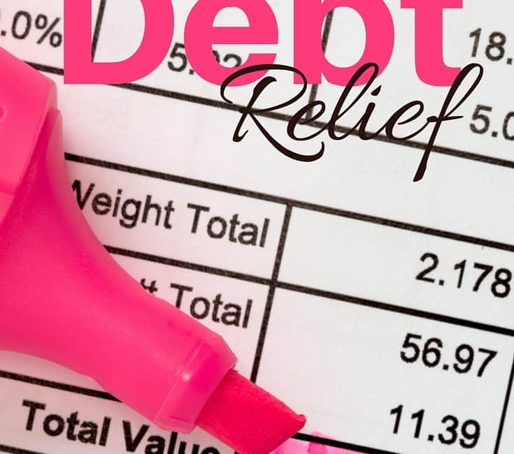 Tips for Debt Relief