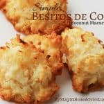 Simple Besitos de Coco / Coconut Macaroons