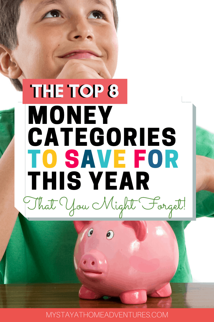 Ready to tackle 2020 and your finances in order? Do you know how much money to save for this year? Learn the categories to include this year. via @mystayathome