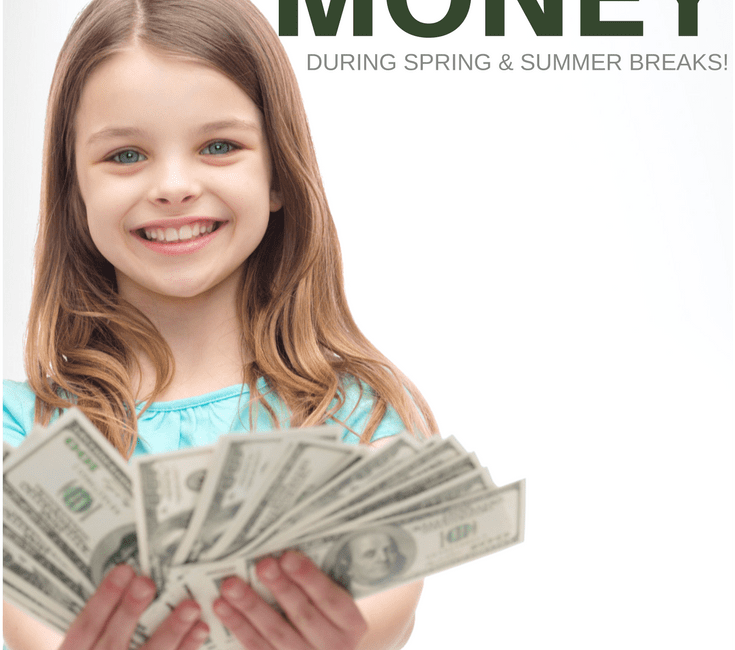 10 Fun Ways Kids Can Make Money This Spring Break
