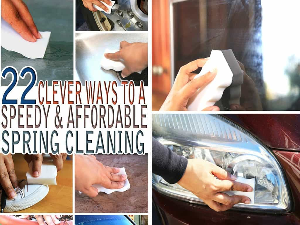 Spring cleaning on the agenda this spring? Check out these 22 clever ways to a speedy and affordable spring cleaning to help you on your way.