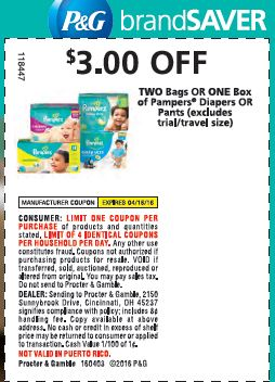 4.3 Pampers Coupon