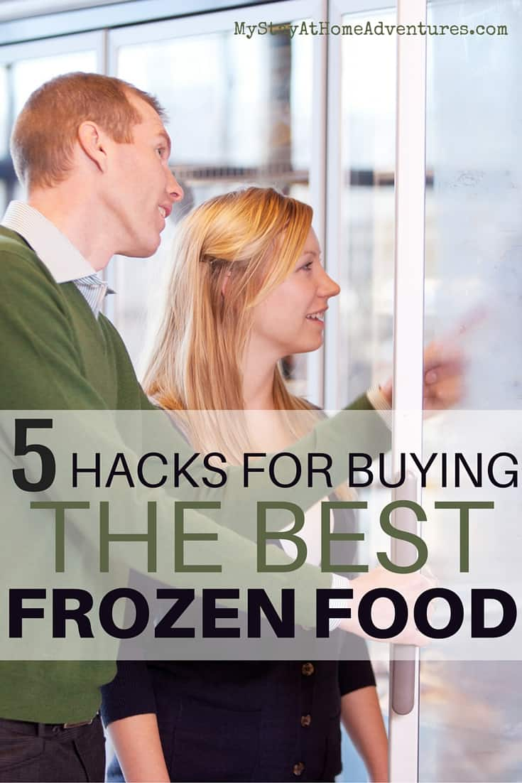 We all buy frozen food but do we know these 5 hacks for buying the best frozen food that is good and great for our budget? When it comes to frozen food you think you know all there is but the truth is that you don't. Learn the hacks and start using them on your next grocery trip. #tips #Frozenfood #Save #money #hacks