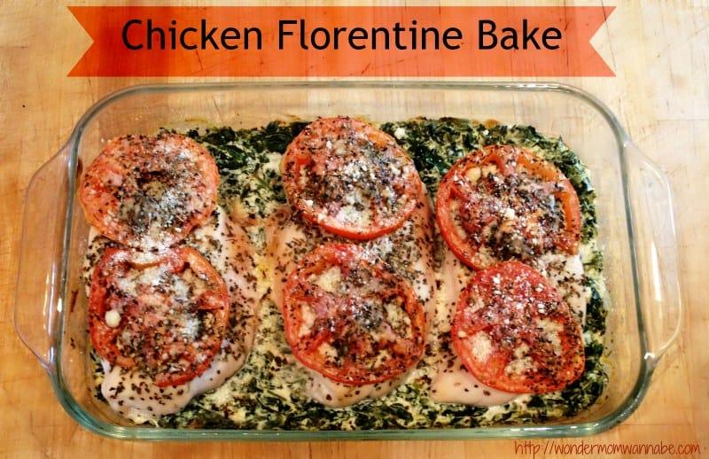 Chicken-Florentine-Bake