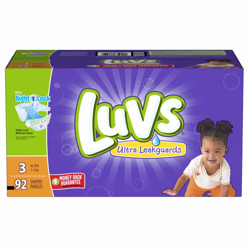 Experienced parents love Luvs and you will love them even more with this limited time offer. Score $5 rebate when you buy Luvs diapers.