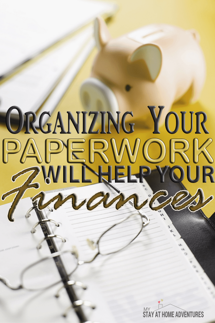 Organizing Your Paperwork Can Help Your Finances