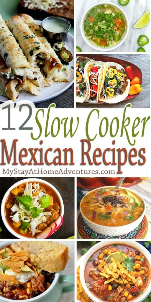 Looking for Mexican recipes to try with your busy family? Check out these mouth-watering slow cooker Mexican recipes for busy families.