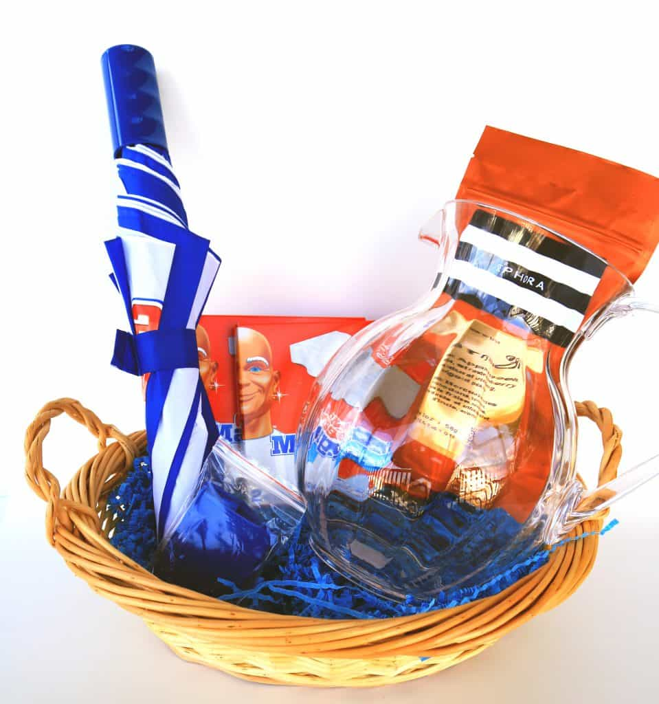 mr clean gift basket