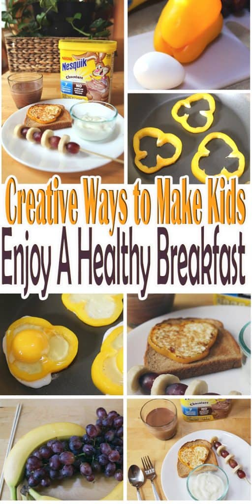 Looking for creative ways to make kids enjoy a healthy breakfast? Check out these helpful tips and simple creative recipes your kids will love. #StirImagination #Ad