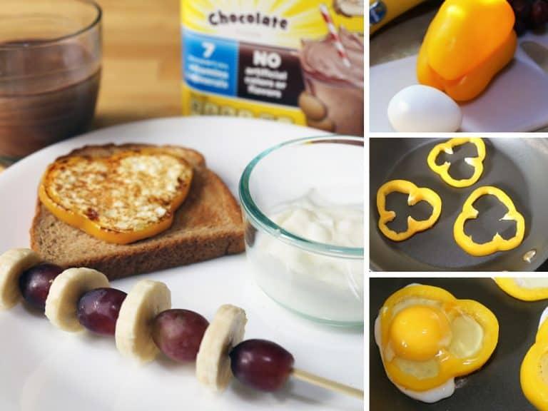 Creative Ways to Make Kids Enjoy A Healthy Breakfast #StirImagination