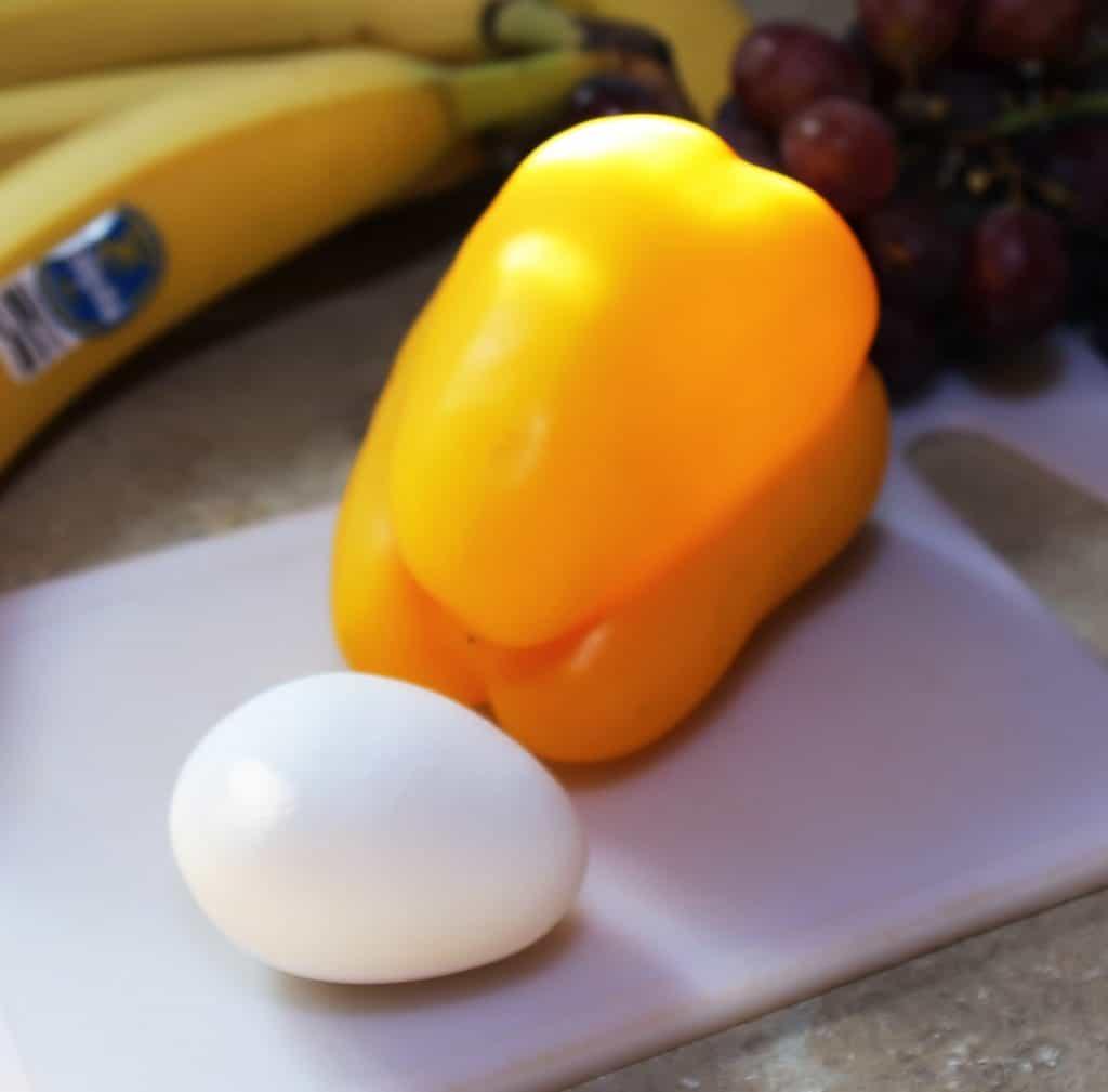egg and pepper