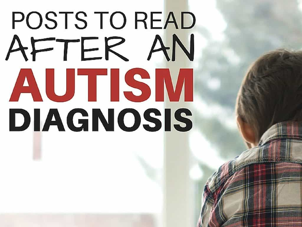 When you first get your child's autism diagnosis, it can be crazy overwhelming. I know I was! Check out these posts from mamas that will help you.