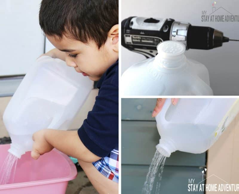DIY Plastic 1 Gallon Milk Jug Watering Can