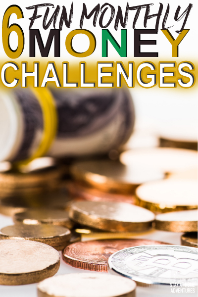 Looking for a fun way to motivate you to save money? We have 6 incredible 2020 monthly money challenges you and your family can do this year!