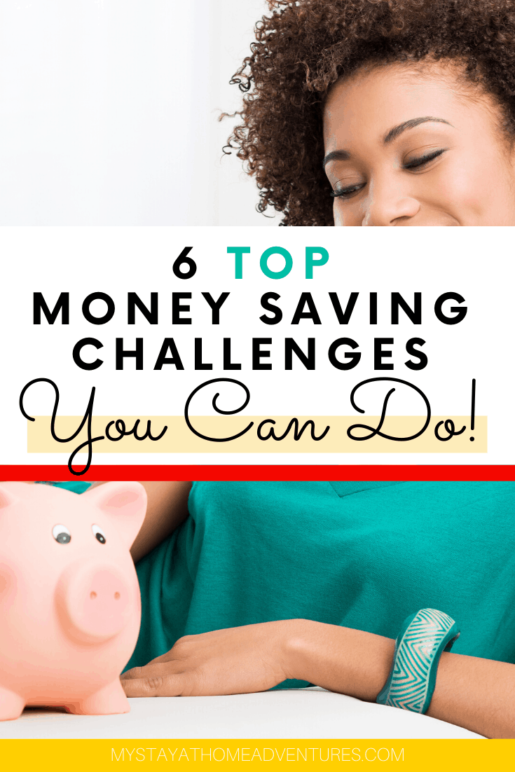 Looking for a fun way to motivate you to save money? We have 6 incredible 2020 monthly money challenges you and your family can do this year! via @mystayathome