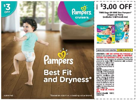Calling all Pampers Fans!! This Sunday you will able to enjoy Pampers diapers June coupon offers. Score big with these high value coupons.