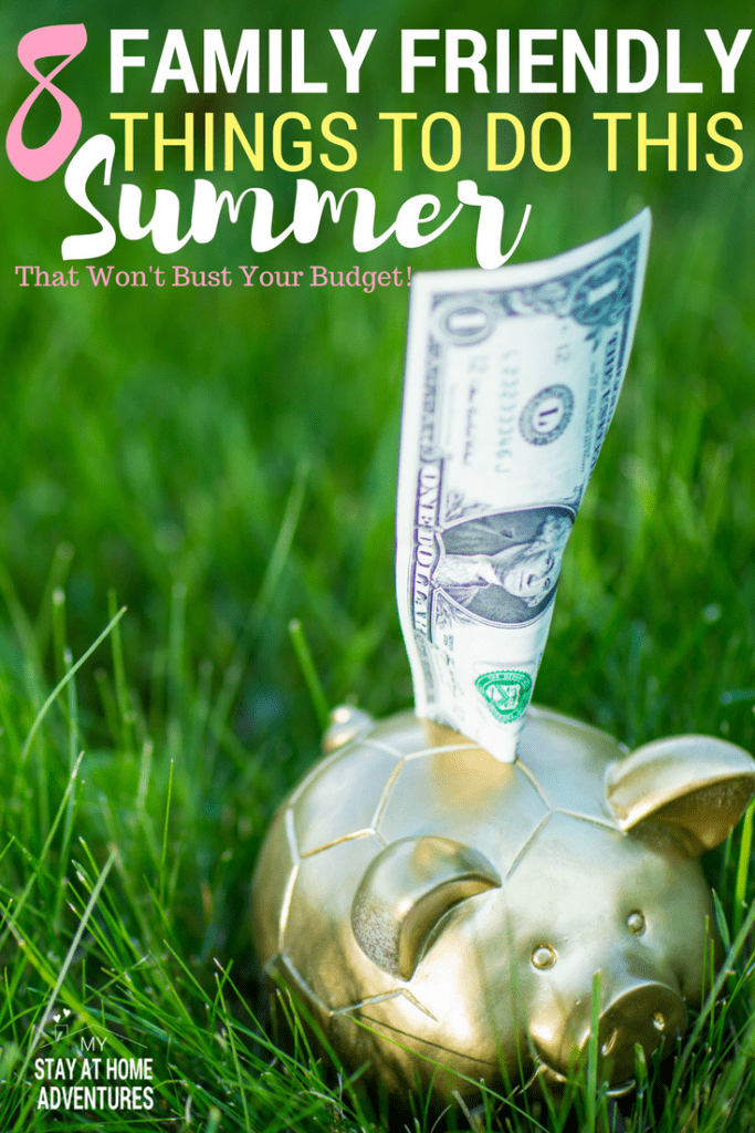 What to do this summer? Worried that it will bust the budget? Learn 8 things to do this summer that won't break your budget and most importantly your family is going to enjoy doing this season.