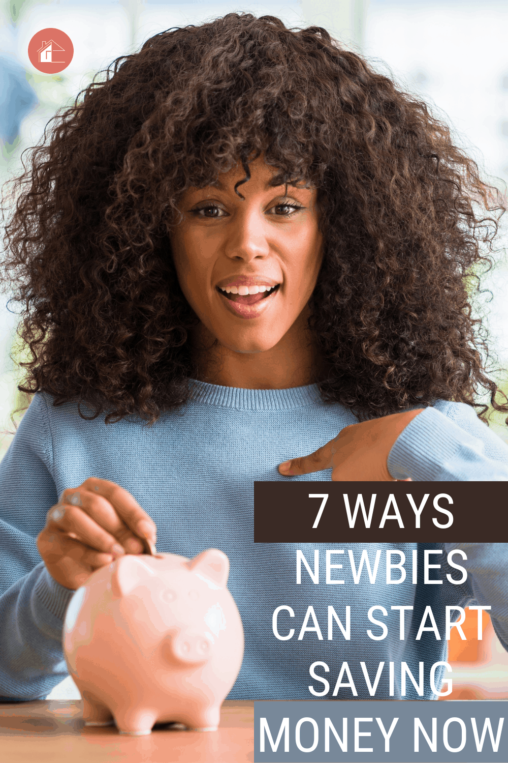 While saving money might seem like a daunting task, it really doesn't have to be. Learn how anyone can start saving today! via @mystayathome