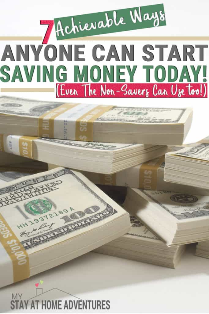 Tired of being broke and not sure where to begin? Learn 7 ways you can start saving now that will get you results. From automation to using your phone to save and make money, you can start saving money in no time.