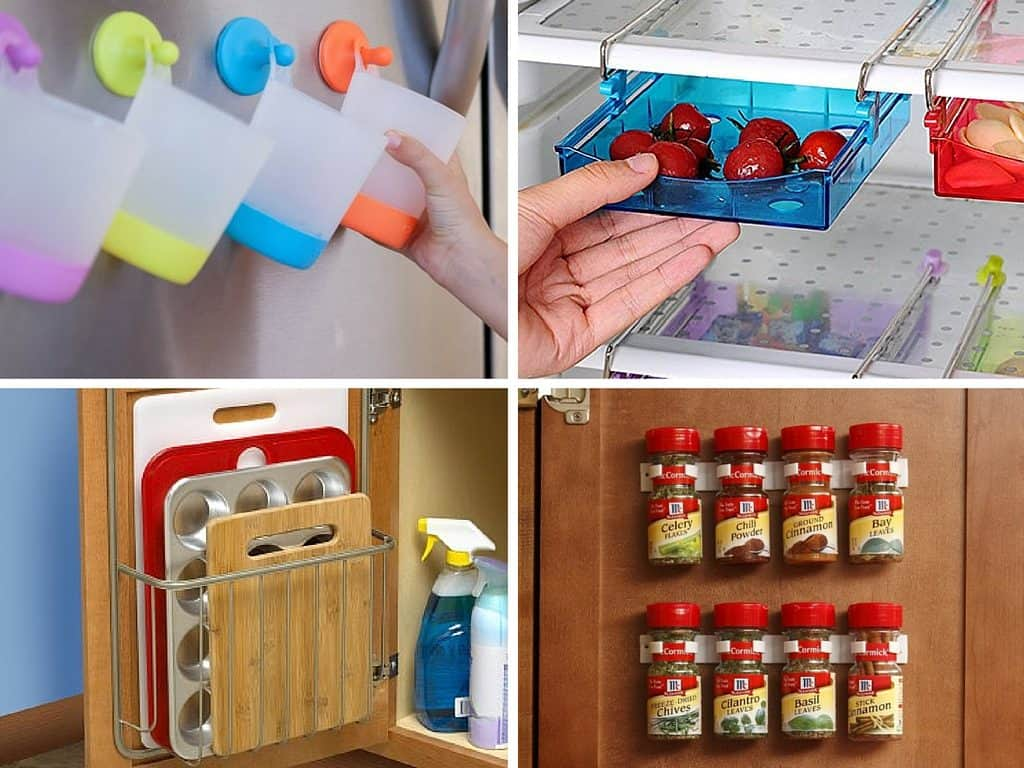Clever Kitchen Organization Ideas and Gadgets