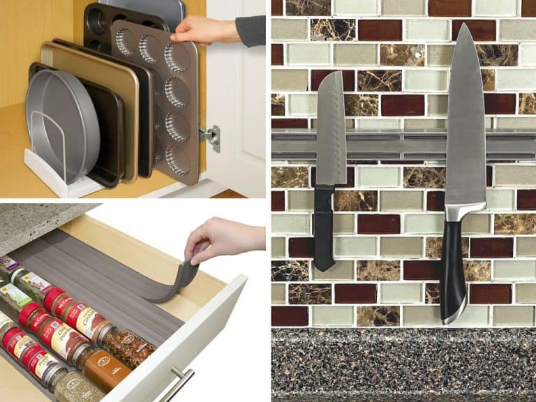 29 Clever Kitchen Organization Ideas and Gadgets