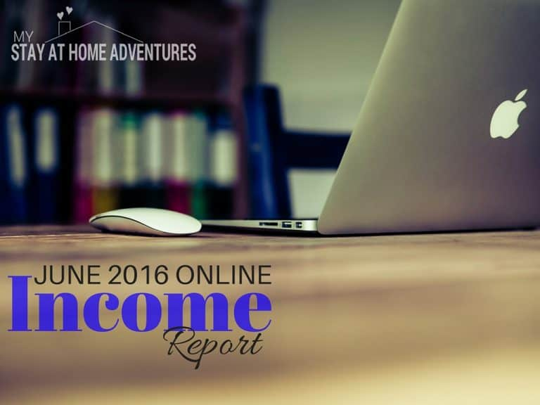 June Online Income Report