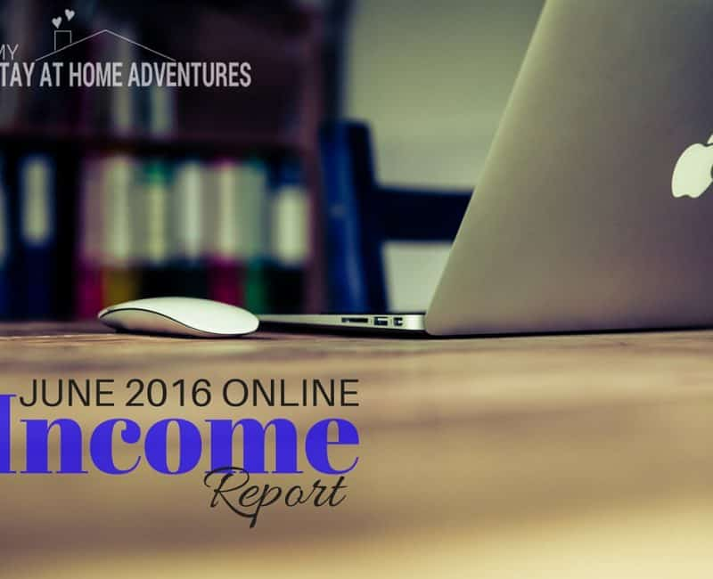 June Online Income Report