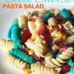 Red, White, and Bleu Cheese Pasta Salad #SeeTheLite