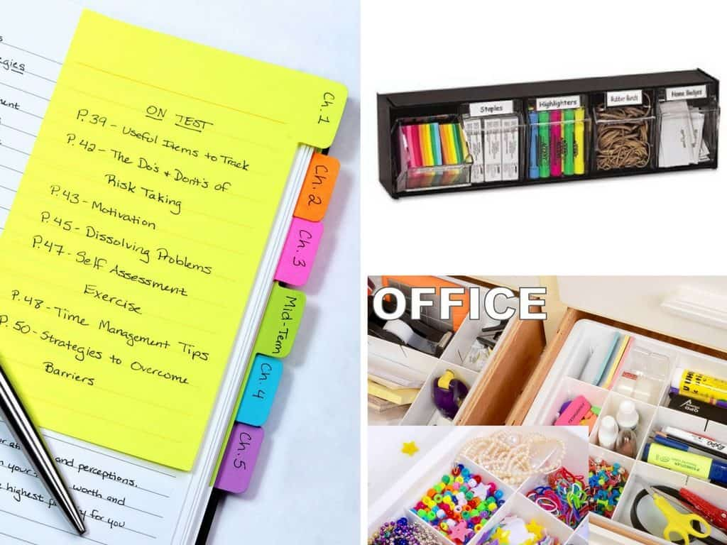 clever office organization ideas and gadgets * my stay at home