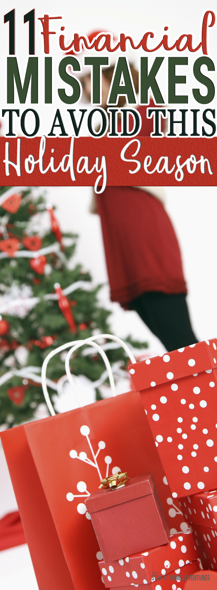How To Stop Spending Money This Christmas - Here are 11 financial mistakes to avoid this holiday season to help you. Get to enjoy your holidays without stressing over your finances.
