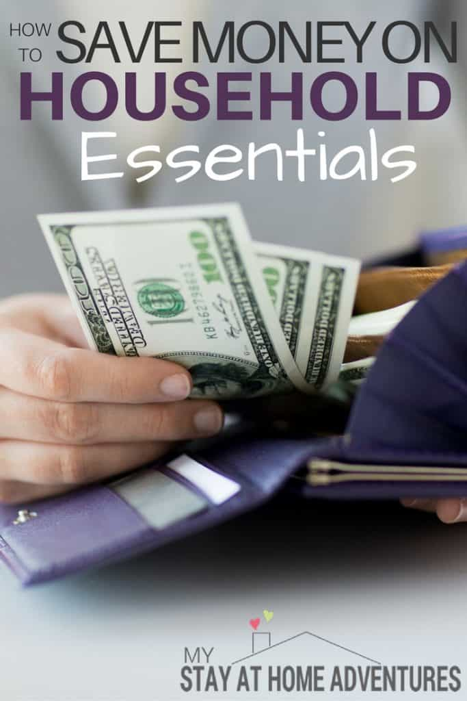 How to Save Money on Household Essentials - Managing a household on a budget can be a challenge. Knowing which household essentials will save you money with little left over for a splurge or two!