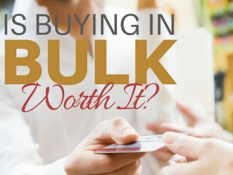 Is Buying in Bulk Worth It?