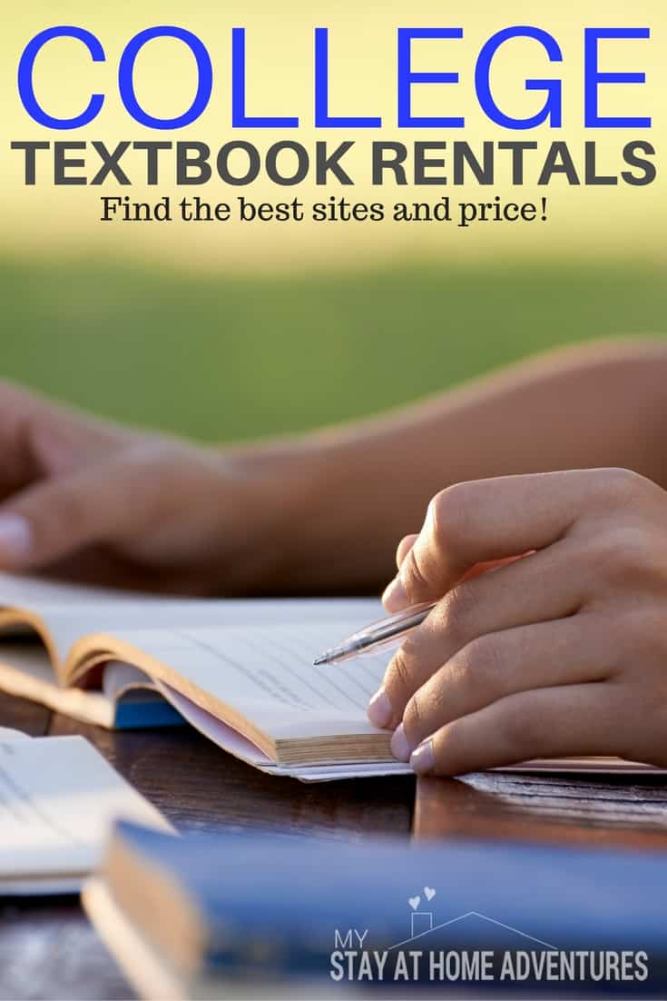 There are many benefits and deals you may find when renting college textbooks. Learn why renting has great benefits and how college textbook rentals work. #college #savemoney #textbookrental via @mystayathome