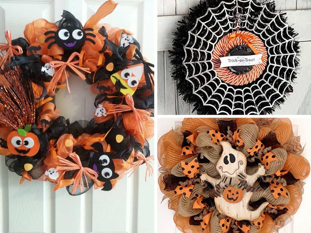 The Best Halloween Wreath Ideas For Non Crafters