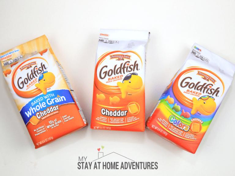 Having Fun with Goldfish Crackers Games