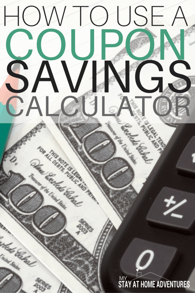 Want to save even more money using coupons? Learn how to use a coupon savings calculator to help you see how much money are you saving and to say in budget.
